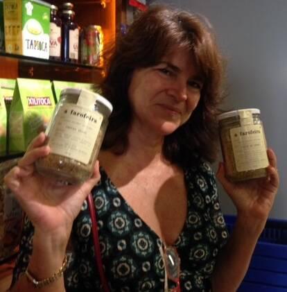 Cecília Borges: a chef lança farofas para o mercado carioca - pesto de ervas, frutas secas e natural