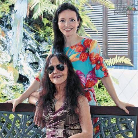 Helena Ignez e Djin Sganzerla: mãe e filha vão atuar juntas na mesma peça/ Foto: divulgação