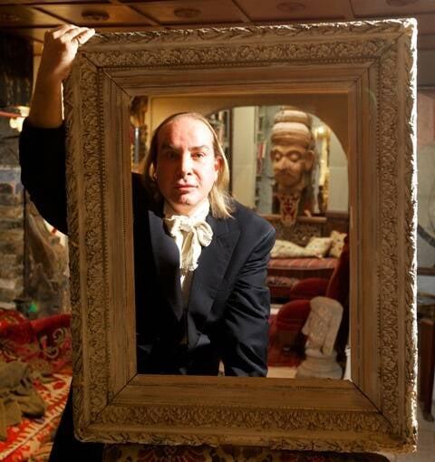 Olivier Mourão: o artista é conhecido tanto pelas suas telas quanto pelo estilo de vida / Foto: André Cãmara