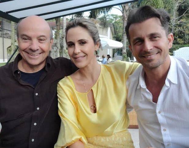 Josa com Guilhermina e marido