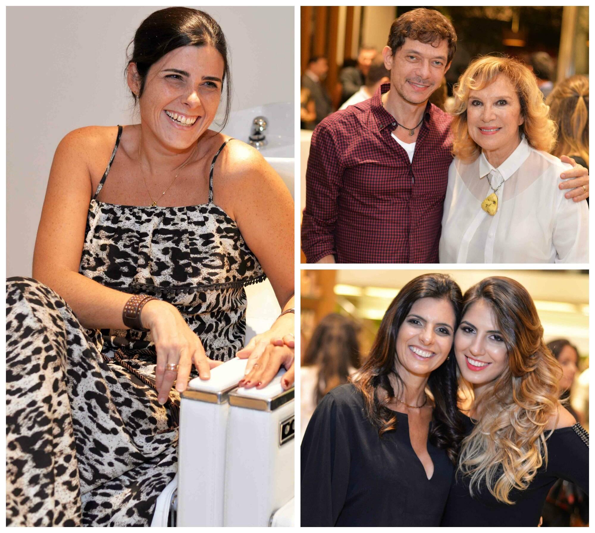 No sentido horário: Kiki Simão; André Piva e Janine Goossens; Angela e Daniella Vaz / Fotos: Ari Kaye