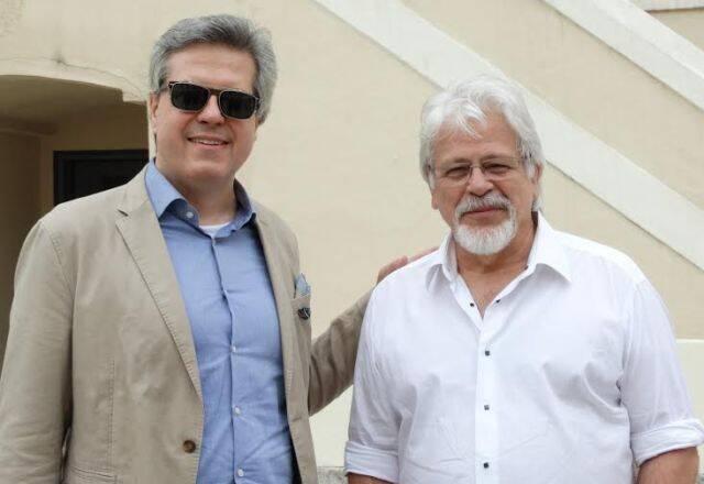 Vicente Giffoni, presidente da Asbea-RJ, e Jair Valera, o mais novo membro da associação que reúne os 60 mais importantes escritórios cariocas de arquitetura/ Foto: divulgação