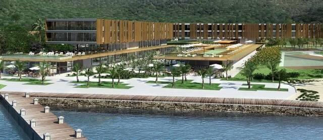O projeto arquitetônico do Fasano em Angra é assinado pelo escritório carioca Bernardes e Jacobsen/ Foto: divulgação