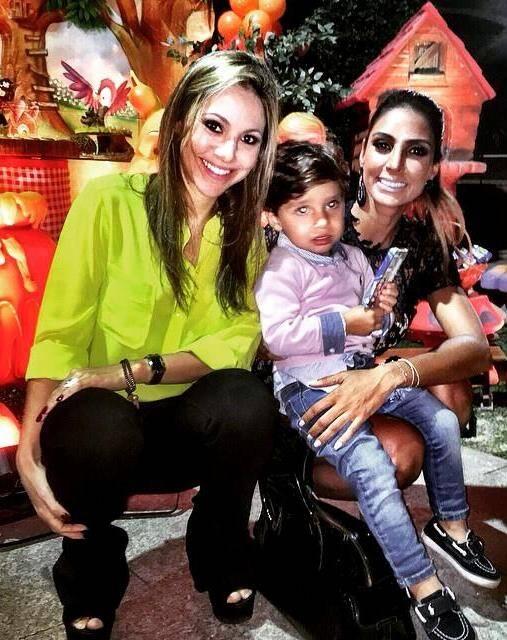 Balder Batista: festa do filho de Flavia Sampaio e Eike Batista, na casa do Jardim Botânico