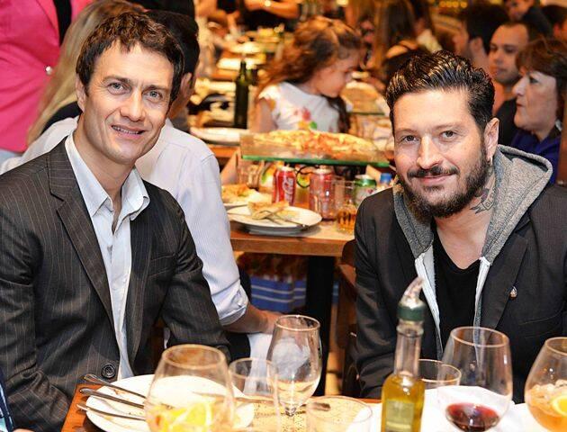 Gabriel Braga Nunes e seu socio Fabio Mondego