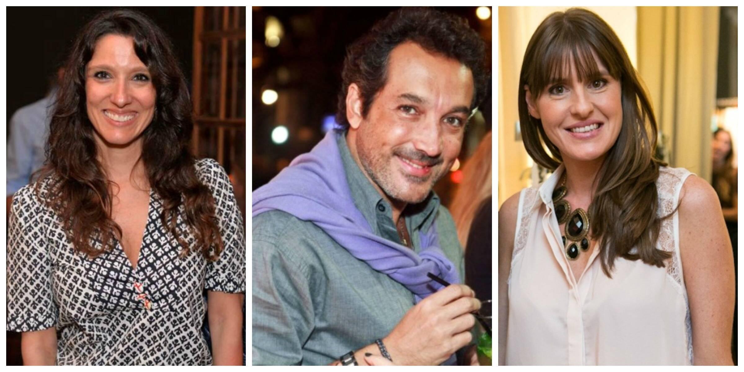 Os jurados que vão eleger a mulher mais elegante do GP Brasil: Isabela Capeto, Irajá Carneiro e Juliana Burlamaqui/ Fotos: Bruno Ryfer