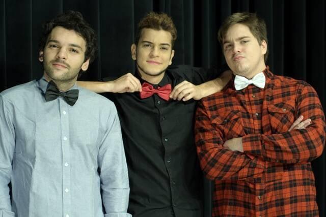 Raphael Ghanem, Victor Lamoglia e Lucas Salles: trio está afiadíssimo no improviso/ Foto: divulgação