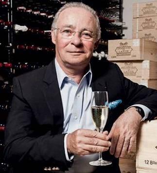 Philippe de Nicolay-Rothschild: o barão faria palestra sobre a história dos vinhos da sua família, na Casa do Saber (Rio), nesta terça-feira (09/06), mas foi internado, em Paris / Foto: reprodução Facebook