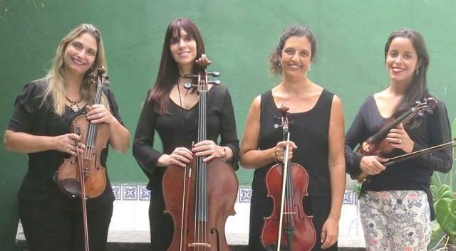 O Quarteto Gaia: um toque bem feminino na música de câmara/ Foto:divulgação