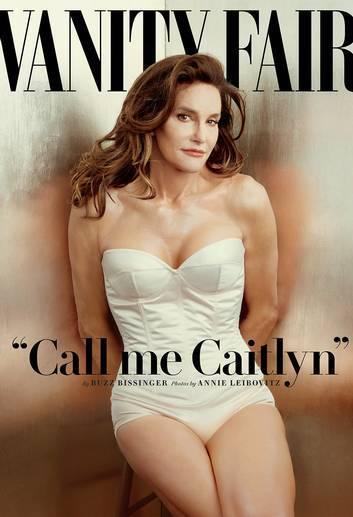"""Bruce Jenner na capa da """"Vanity Fair"""": edição que foi às bancas nesta segunda-feira (01/06), pode virar uma edição histórica da revista. Ele virou Caitlyn / Foto: reprodução"""