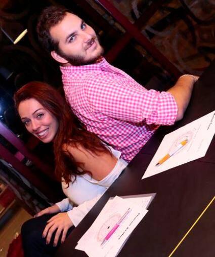 Sharon e Michel frequentam as sessões de planejamento do casamento uma vez por semana/ Foto: Ricardodnigris