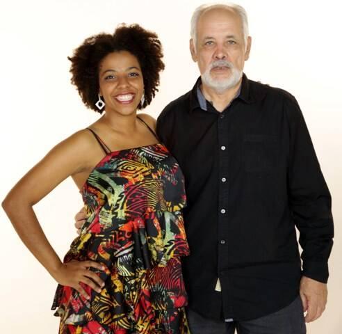 Maíra Freitas e Cristóvão Bastos: reencontro de aluna e professor, em show no CCBB/ Foto: Aurélio  Oliosi