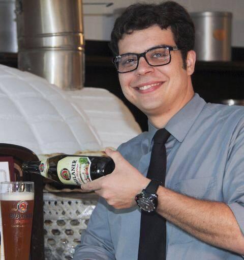 Pedro Barcellos: sommelier vai disputar, em julho, o campeonato mundial de cervejas/ Foto: divulgação