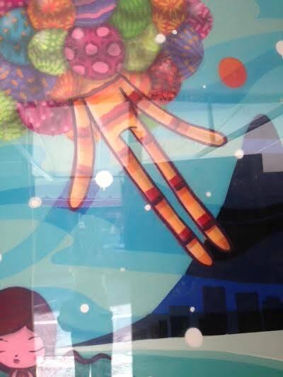 Braseiro: depois de várias promessas, restaurante vai reabrir com grafites e 'otras cositas más' / Foto (constrangedora, de tão ruim): Lu Lacerda