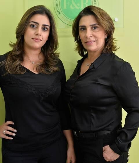 Raphaela e a mãe, Fatima Bahia: tatuagens nos planos profissionais da dupla/ Foto: Bruno de Lima