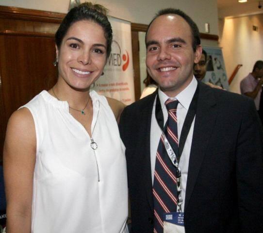 Gabrielle Michel e Antonio Paulo Pitanguy (1)
