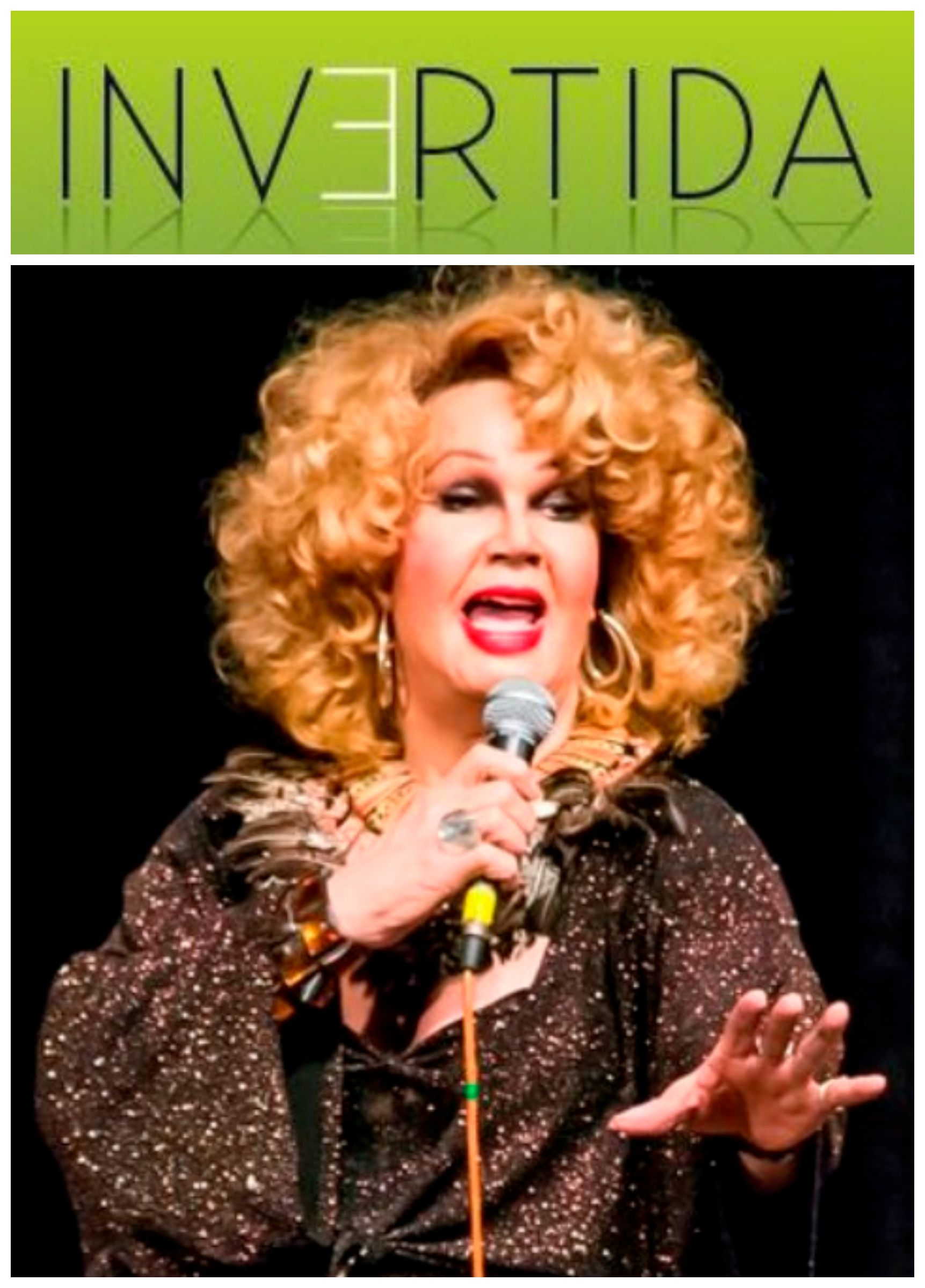 """Jane di Castro: a artista canta e conta piadas no show """"Passando batom""""/ Foto: Daniel Marques"""
