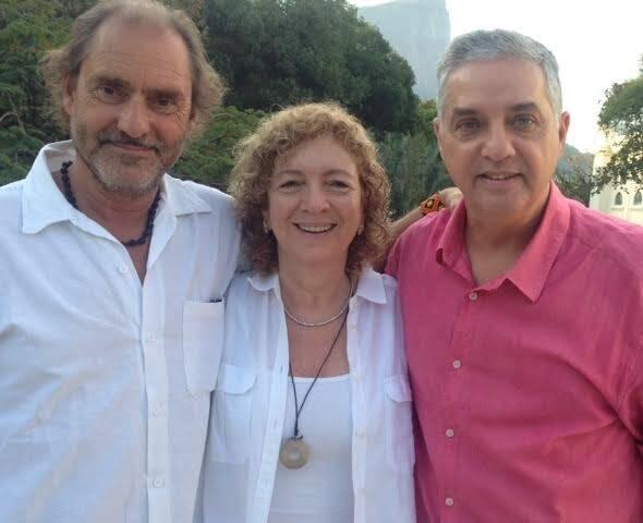 Mauro, CLuadia e Stasi