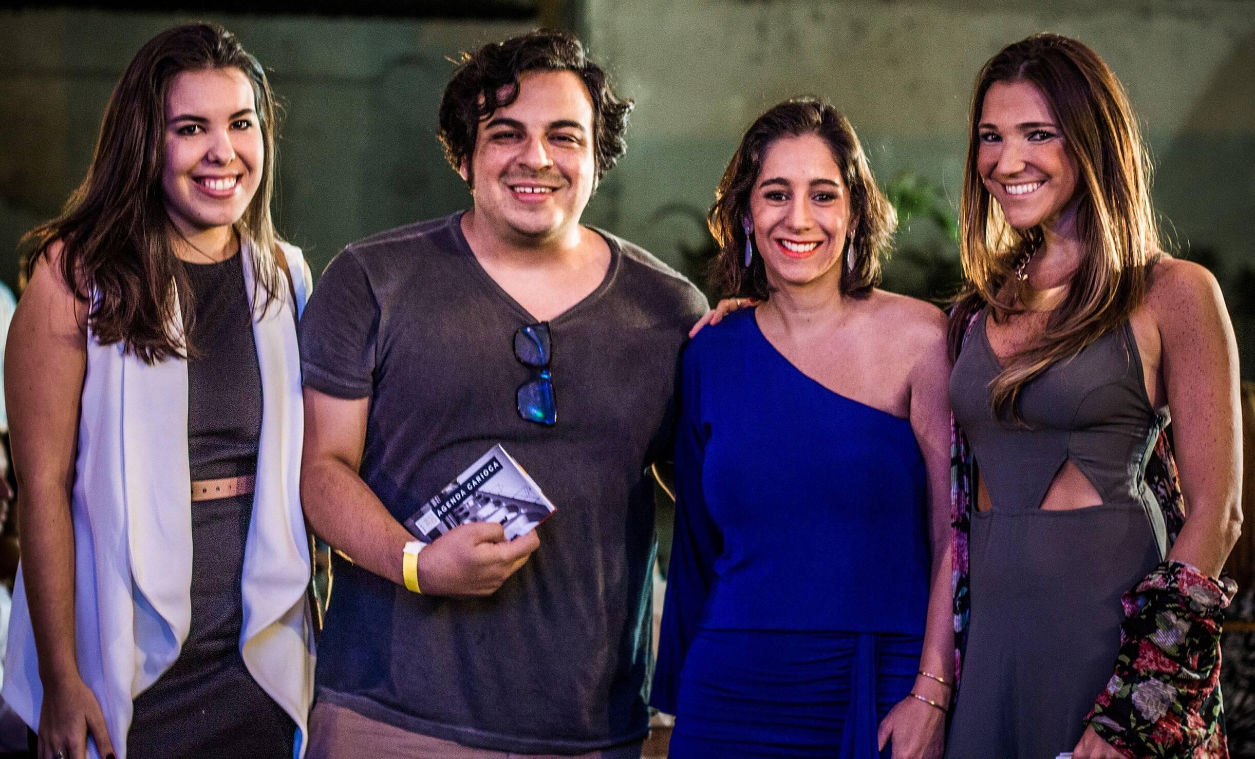 Mariana Broitman, o ator e morador da Lapa Luiz Lobianco, Antonia Leite Barbosa e a diretora de marketing da Gafisa, Roberta Faria / Foto: