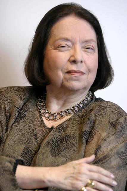 Nélida Piñon: escritora vai dar nome a uma sala de leitura no Morro da MIneira/ Foto: divulgação