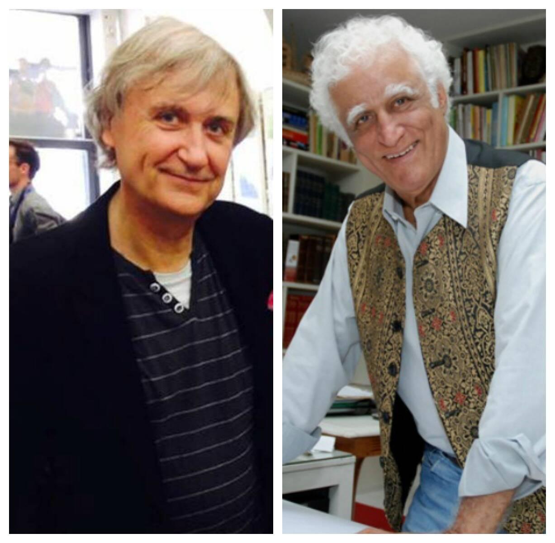 Plantu e Ziraldo: os dois cartunistas se encontram nesta segunda, no Consulado da França/ Fotos: divulgação
