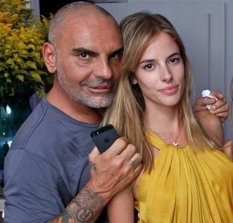 Christian Audigier: o empresário, com a mulher, Nathalie Sörensen, no último verão carioca / Foto: Murillo Tinoco