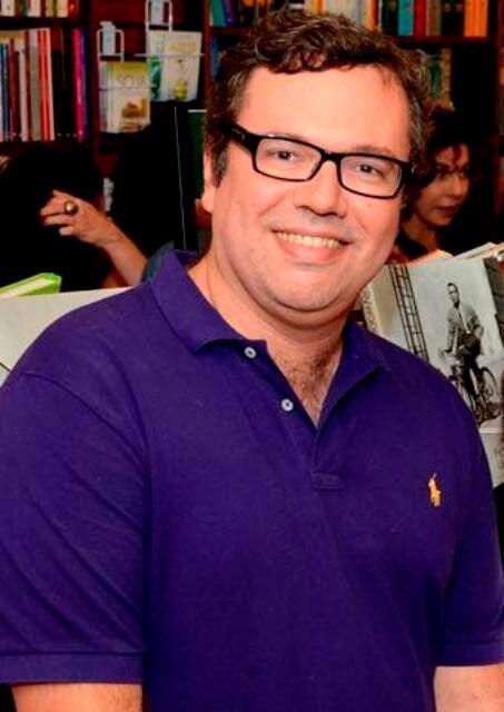 """João Emanuel Carneiro:  """"Em tempo de novela deixo de dormir bastante, coisa que eu adoro!"""" / Foto: Marco Rodrigues (arquivo Site Lu Lacerda)"""