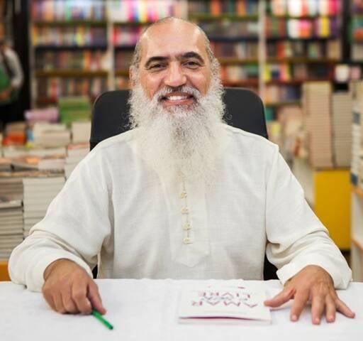"""Sri Prem Baba lança seu segundo livro, livro """"Amar e ser livre. As bases de uma nova sociedade"""", pela Ediouro/Agir, nesta quarta-feira/ Foto: divulgação"""
