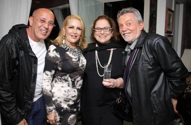 Evandro Junior, Isis Penido,Hildegard Angele Mario Borrielo