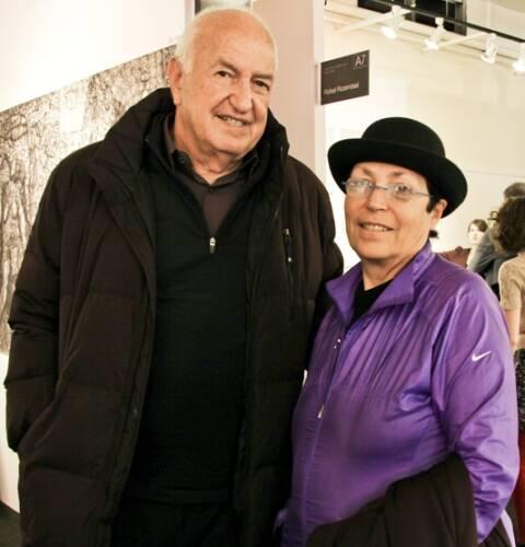 Mera e Donald Rubell: o casal começou sua coleção logo depois de se casarem, em 1964 / Foto: reprodução da internet