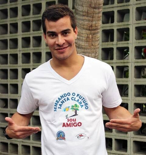 Thiago Martins: ele estudou na creche para a qual está pedindo doações/ Foto: divulgação