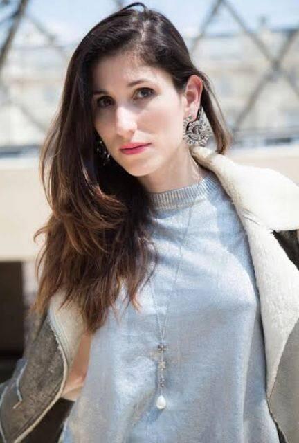 Paula Rita Saady: blogueira que vive em Paris de férias no Rio, mas trabalhando sem parar / Foto: divulgação