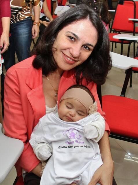 Uma das advogadas que fizeram parte do Projeto Nascer, da Caarj: apoio para quem quer amamentar/ Foto: divulgação