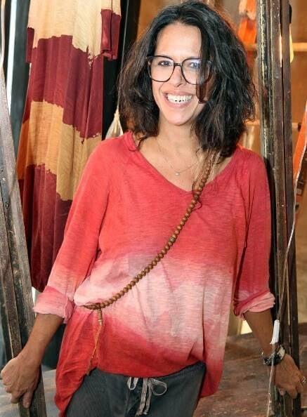 Gilda Midani: feliz em atingir a marca de dez anos de sua grife de roupas/ Foto: divulgação