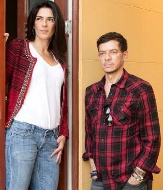 Na foto acima, Adriana Ferraz e Cristiana Galvão; nesta foto, André Piva e Vanessa Borges: são os eróticos do Casa Cor / Foto: divulgação