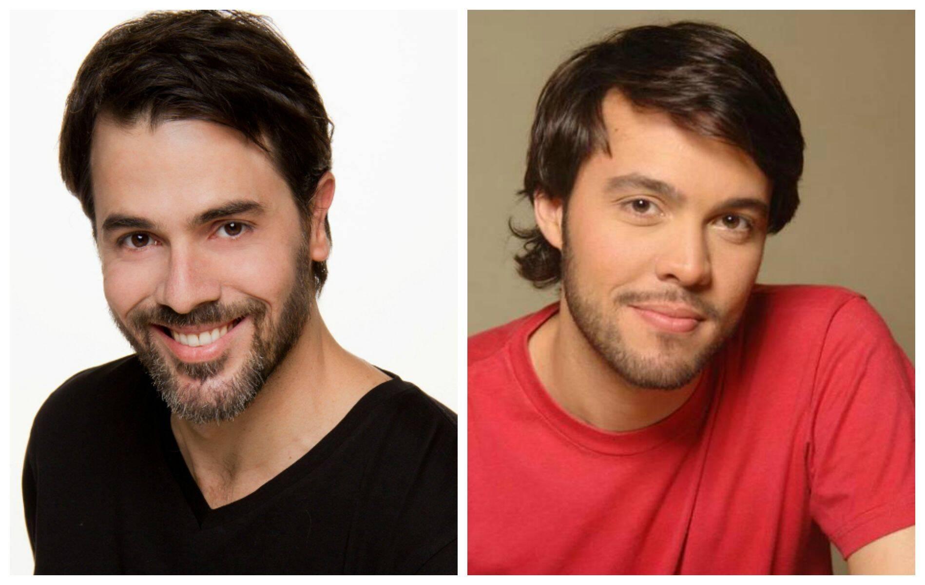 Claudio Lins vai beijar o ator Pablo Áscoli numa das peças mais conhecidas de Nelson Rodrigues / Fotos: divulgação