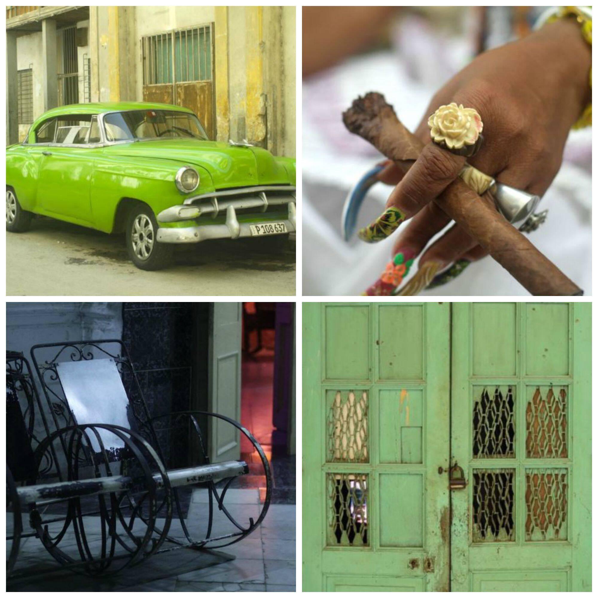 O contraste pretendido por Maritza: a frieza de Miami contra o barroco das imagens cubanas / Fotos: divulgação