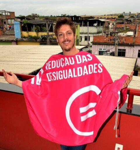 DSC_6673  Fábio Porchat -Bandeira da ONU para o Brasil - Redução das Desigualdades - SET 2015 - Foto CRISTINA GRANATO