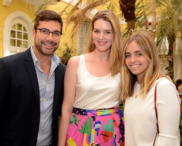 Fernando Torquatto, Vanessa Metz e Luisa Schroder - Lu Tancredo