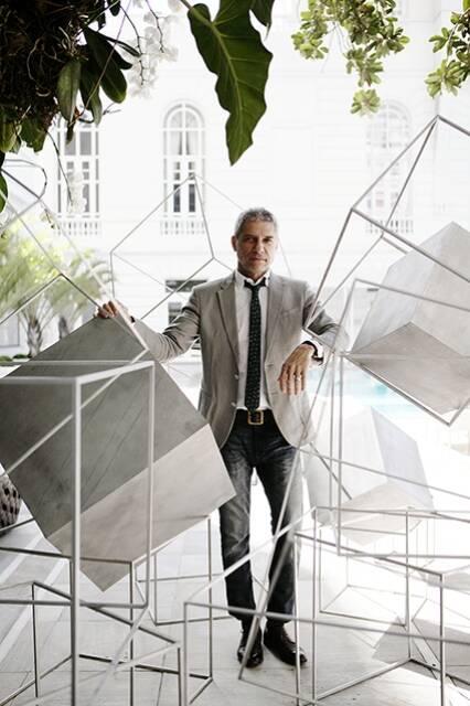 José Bechara é um dos artistas que vão expor suas obras por todo o Copacabana Palace / Foto: divulgação