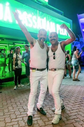 Rock in Rio: muitos fãs do Queen foram fantasiados de Freddy Mercury / Foto: Bruno Ryfer