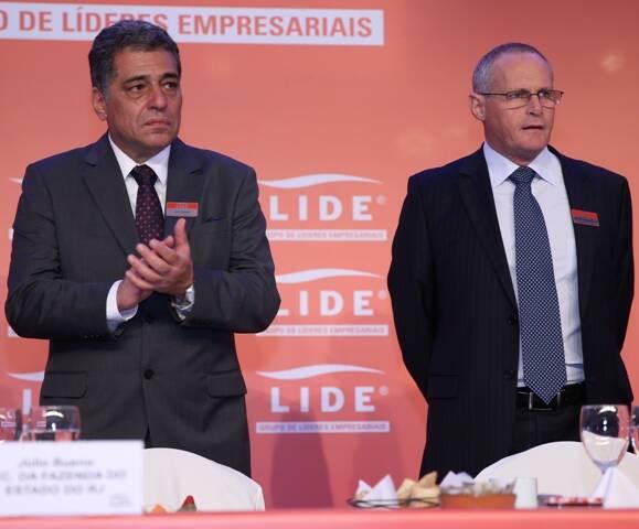 Seminario LIDE 29-09-2015 - Julio Bueno e  José Mariano Beltrame -  Foto Fredy Uehara