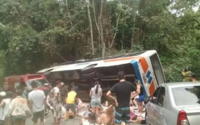 A Prefeitura afirma que desde 2013 já havia aplicado 131 notificações à empresa do ônibus que causou o acidente / Foto: IG