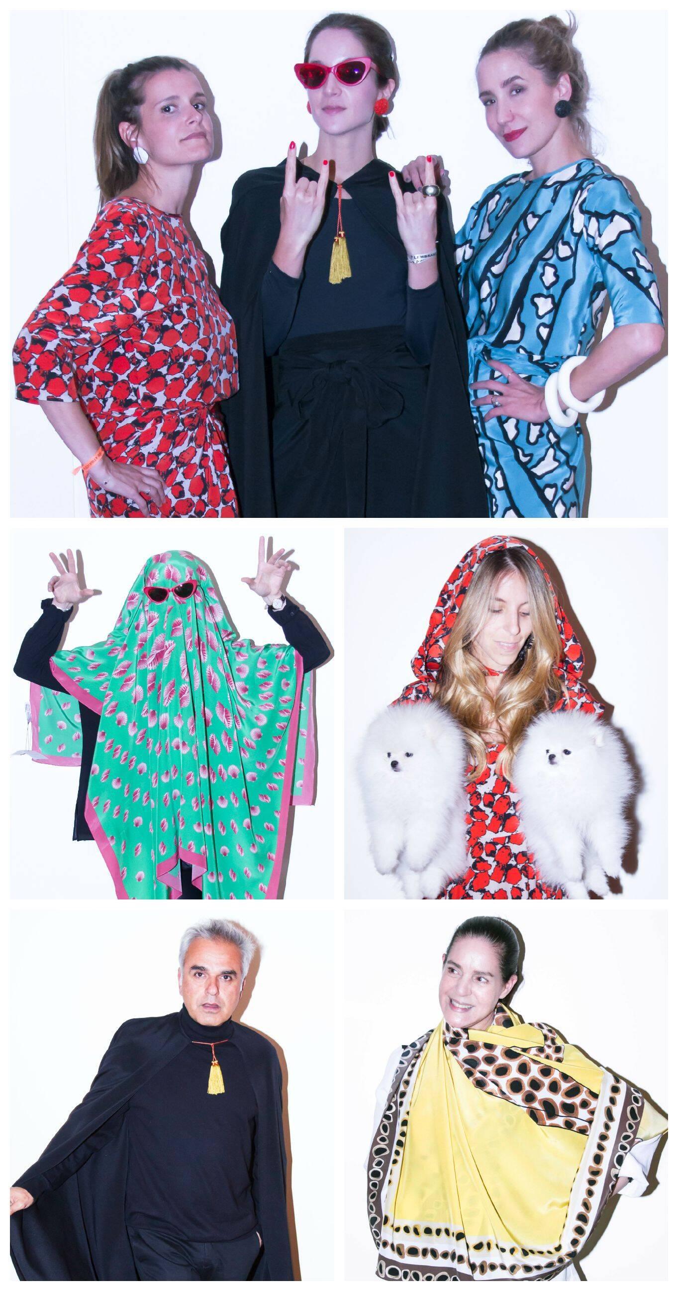 Eugenia Maia, Vanda Jacintho, Paola Orleans; Stella Jacintho; Marcia Jacintho; Marcio Vicentini; Camilla Bossolan / Fotos: Guilheme Nabhan