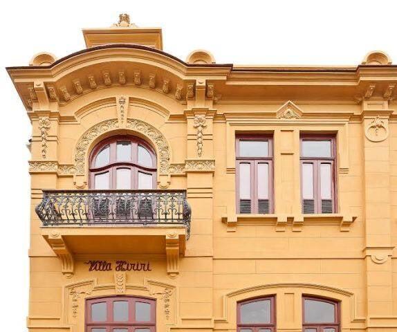Fachada da Villa Aymoré, na Glória, endereço do Casa Cor deste ano / Foto: Jaime  Acioly