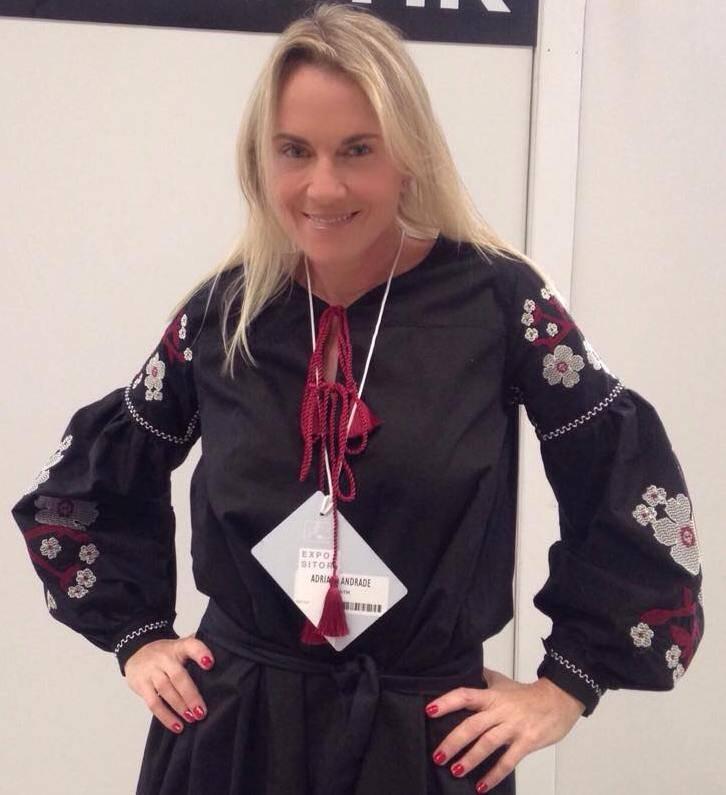 Adriana Andrade: empresária é um dos maiores sucessos no Fashion Business, que está acontecendo no Píer Mauá