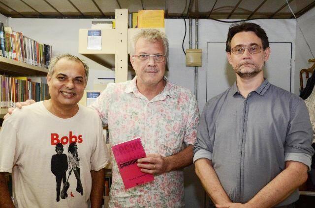 Claufe Rodrigues, Pedro Bial e Joao Cezar de Castro Rocha