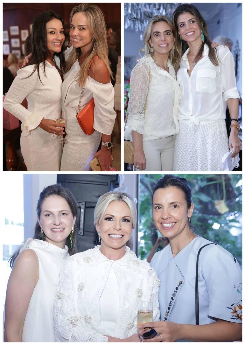 Nina Kauffmann, Hildegard Angel e Heliana Lustman;