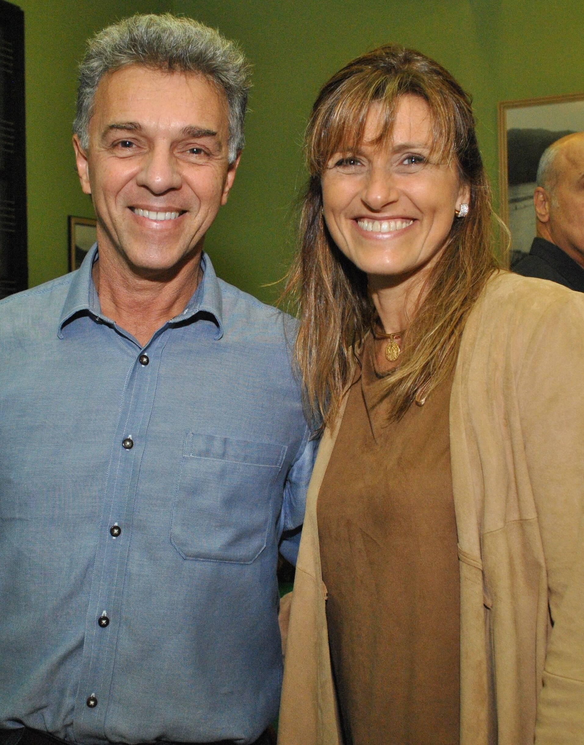 André Cechinel e Andrea Falcão: casamento para segundo semestre do ano que vem / Foto: Armando Araújo - arquivo Site Lu Lacerda