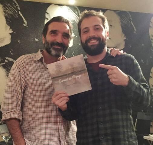 Edgar e Gregório Duvivier em Portugal: pai e filho juntos em lançamento literário em Portugal / Foto: Ricardo Gomes